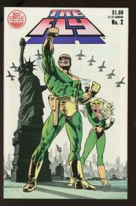THE FLY #2, VF, Jim Steranko, Red Circle, 1983, Archie, more indies in store