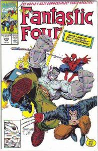 Fantastic Four #348 (Jan-91) NM- High-Grade Fantastic Four, Mr. Fantastic (Re...