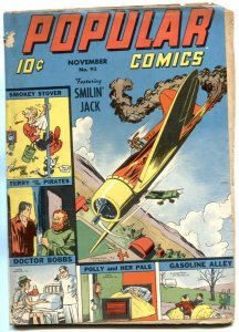 Popular Comics #93 1943- Smokey Stover- Terry & Pirates VG-