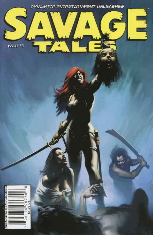Savage Tales (Dynamite) #1C VF/NM; Dynamite | save on shipping - details inside