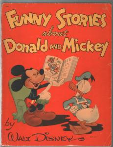 Funny Stories About Donald and Mickey #714 1945-Wal Disney-128 pages-VG-