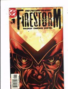 Lot of 7 Firestorm DC Comic Books #1 2 3 4 5 6 7 LH5