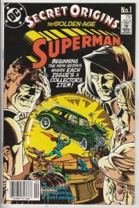 Secret Origins #1 (Apr-86) VF/NM High-Grade Superman