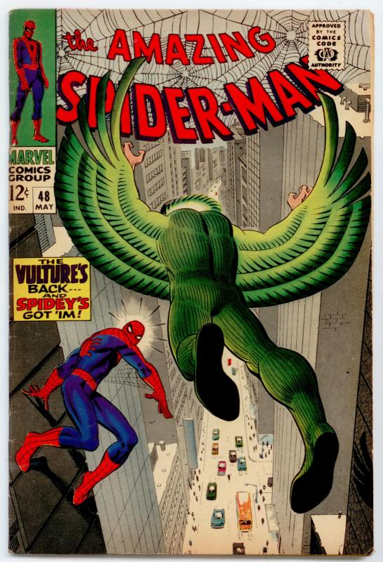 Amazing Spider-Man #48 FN+ 6.5  The Vulture