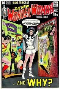 WONDER WOMAN #191 (Nov 1970) 8.0 VF  A Re-Presentation of Diana's 'Re-Birth'!