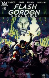 Flash Gordon: Kings Cross #3A VF/NM; Dynamite | save on shipping - details insid