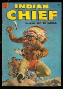 INDIAN CHIEF #14 1954-DELL COMICS-WESTERN-WHITE EAGLE G/VG