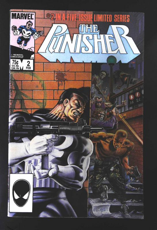 Punisher (1986 series) #2, VF+ (Actual scan)