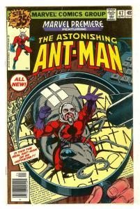 Marvel Premiere 47   Origin & 1st New Ant-Man