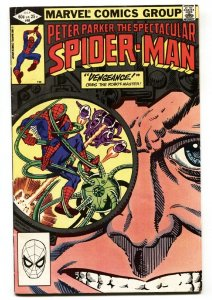 SPECTACULAR SPIDER-MAN #68-Jigsaw issue-comic book 1982