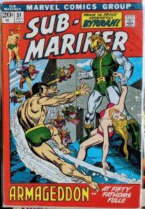 Sub-Mariner #51 (1972) VF-