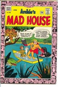 Archie's Mad House #40 1965-Captain Sprocket-Captain Shark-Dracula-vampire-VG