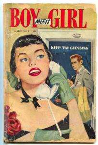 Boy Meets Girl #9 1951-Golden Age romance comic FR
