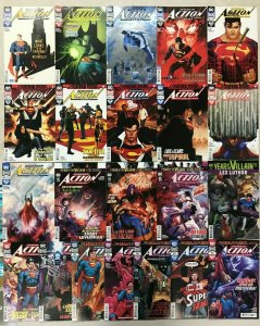 ACTION COMICS#1002-1026 LOT (22 BOOKS) 2020 DC COMICS THE NEW 52!