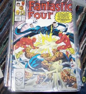 FANTASTIC FOUR #333  marvel  1989  COPPER AGE  DREAMQUEST SAGA