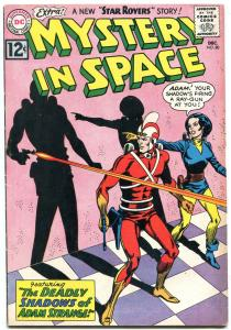 MYSTERY IN SPACE #80 1960 DC ADAM STRANGE STAR ROVERS FN