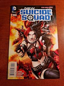 NEW SUICIDE SQUAD #4 NEAR MINT DC NEW 52