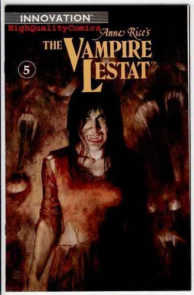 VAMPIRE LESTAT #5, NM+, Anne Rice, Innovation, Horror,1st, more in our store