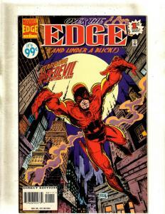 Lot of 9 Comics Over the Edge 1 Daredevil 22 23 43 73 +MORE HY2