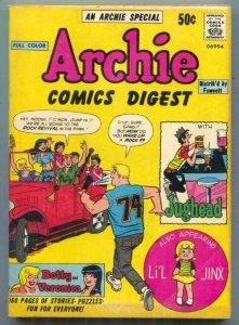 Archie Comics Digest #1 1973- Neal Adams- Betty & Veronica FN