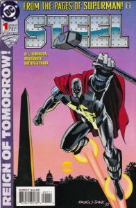 Steel (1994 series) #1, NM (Stock photo)