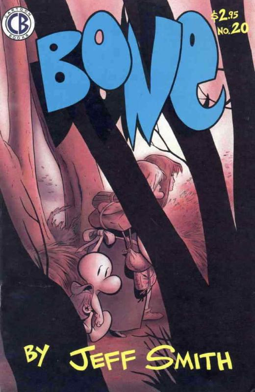 Bone #20 VF/NM; Cartoon Books | save on shipping - details inside