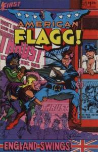 American Flagg! #23, NM (Stock photo)