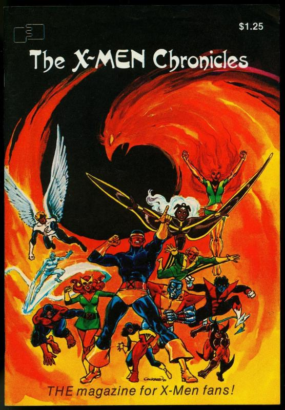 X-Men Chronicles #1 1981-FANZINE-Dave Cockrum cover - Jim Shooter FN