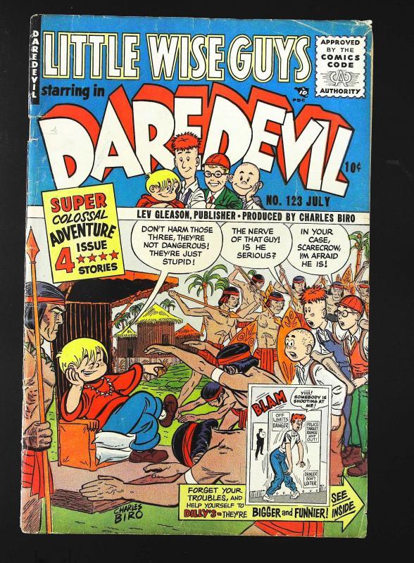 Daredevil Comics (1941 series) #123, VG+ (Actual scan)