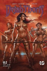 DEJAH THORIS (2019 DYNAMITE) #2 All 9 Covers PRESALE-01/15