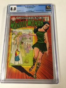 Wonder Woman 179 Cgc 8.0 Ow/w Pages Dc Silver Age