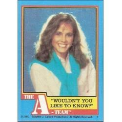 1983 Topps The A-Team WOULDN'T YOU LIKE TO KNOW? #24