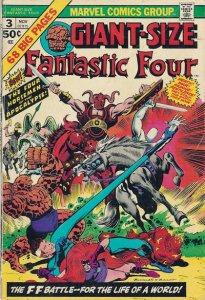 Giant-Size Fantastic Four #3 (ungraded) stock photo / 001