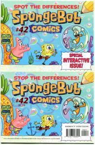SPONGEBOB #42, NM, Square pants, Bongo, Cartoon comic, 2011, more in store