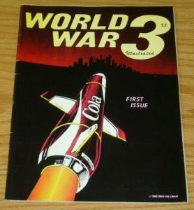 World War 3 Illustrated #1 FN; Top Shelf | save on shipping - details inside