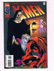 The Uncanny X-Men #327 VF Marvel Comics X-Men Deluxe Comic Book Dec 1995 DE9