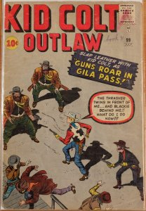 Kid Colt Outlaw #99 (1961) Good+ 2.5 or Better - Marvel - Circle Ten Cents!