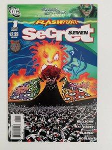 Flashpoint: Secret Seven #1 in Near Mint condition. DC comics