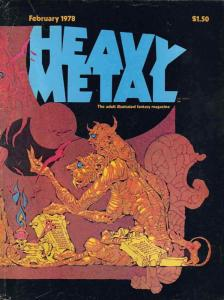 Heavy Metal #11 VF; Metal Mammoth | save on shipping - details inside