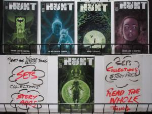 THE HUNT (Image,2016) #1-5, VF-NM COMPLETE! Colin Lorimer!
