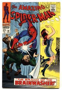 Amazing Spider-Man #59 1968 -1st MARY JANE COVER - Brainwasher VF