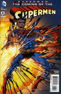 Superman: The Coming Of The Supermen #4 VF/NM; DC | save on shipping - details i