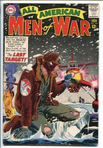 ALL-AMERICAN MEN OF WAR #104-1964-DC-NAVAJO ACE-JOE KUBERT-JOHNNY CLOUD-fn