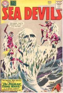 SEA DEVILS 7 VG+   October 1962 COMICS BOOK