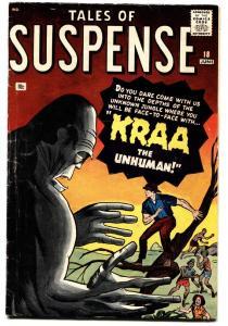 Tales Of Suspense #18 1961- Kraa- Kirby- Ditko VG+ comic book
