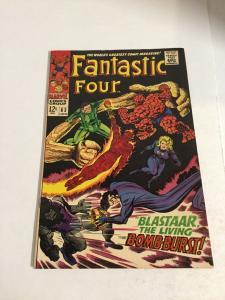 Fantastic Four 63 Vf Very Fine 8.0 Marvel Comics Silver Age