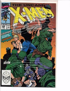 Marvel Comics Uncanny X-Men #259 Chris Claremont Story Marc Silvestri Art