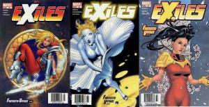 EXILES (2001) 35-37  Fantastic Voyage COMICS BOOK