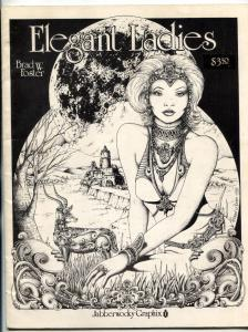 Elegant Ladies #1 1988- Brad W Foster art- FN