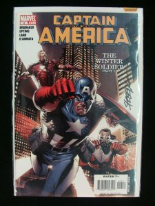 Marvel Captain America #13 The Winter Soldier Part 5 Signed by Steve Epting